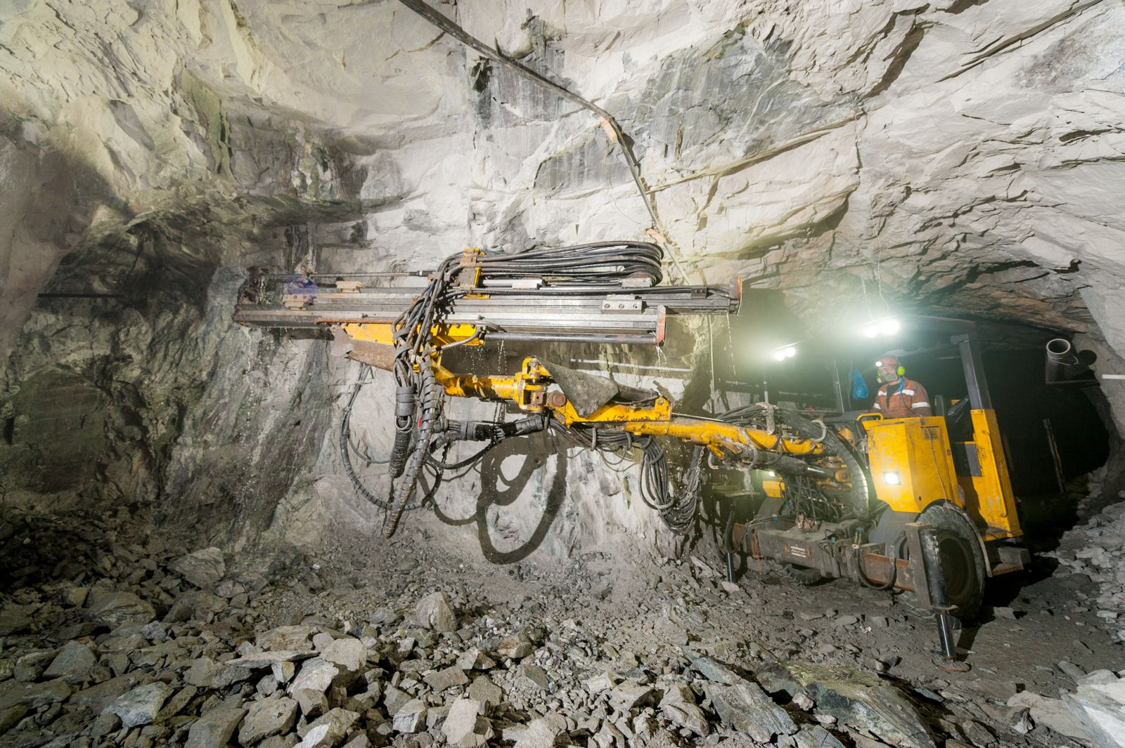Equipment for mining